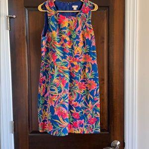 JCrew sleeveless dress.